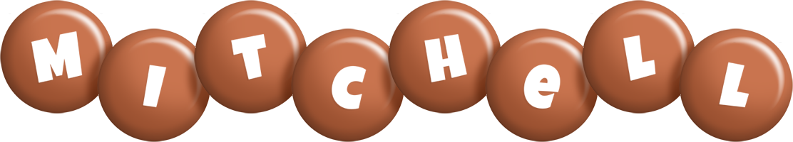 Mitchell candy-brown logo