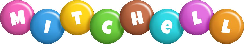 Mitchell candy logo