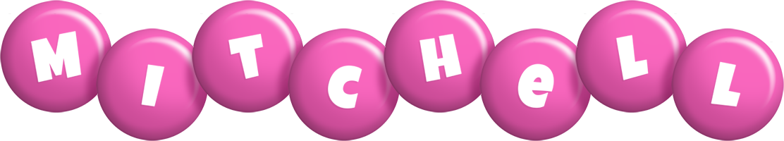 Mitchell candy-pink logo