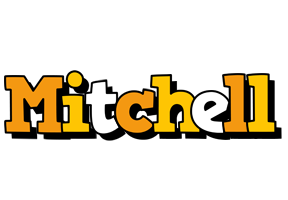 Mitchell cartoon logo
