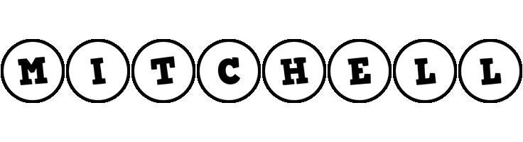 Mitchell handy logo
