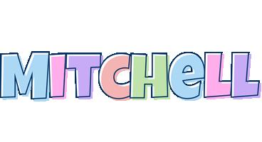 Mitchell pastel logo