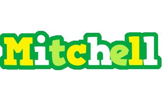 Mitchell soccer logo