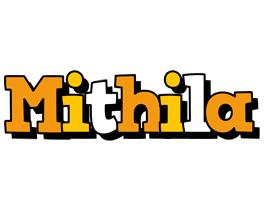Mithila cartoon logo