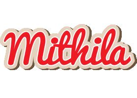 Mithila chocolate logo