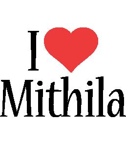 Mithila i-love logo