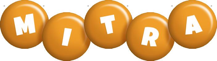 Mitra candy-orange logo