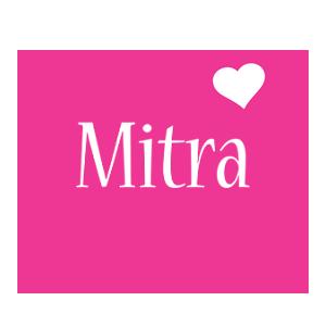 Mitra love-heart logo