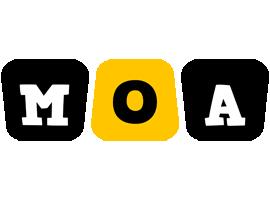 Moa boots logo