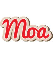 Moa chocolate logo