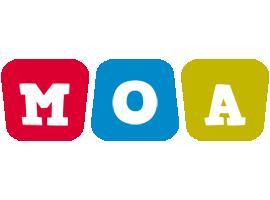 Moa daycare logo