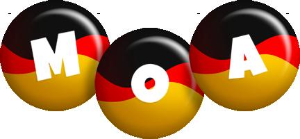 Moa german logo