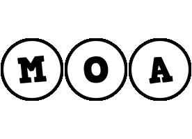 Moa handy logo