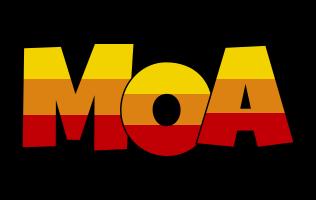 Moa jungle logo