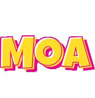 Moa kaboom logo