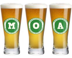 Moa lager logo