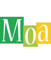 Moa lemonade logo