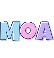 Moa pastel logo