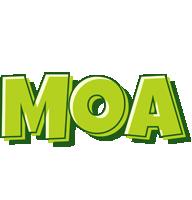 Moa summer logo