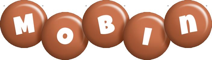 Mobin candy-brown logo