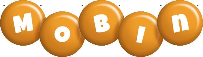 Mobin candy-orange logo