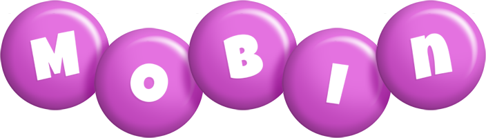Mobin candy-purple logo