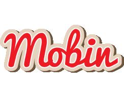Mobin chocolate logo
