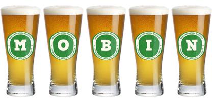 Mobin lager logo