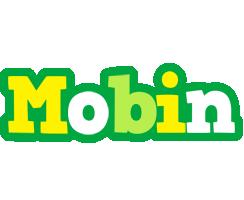 Mobin soccer logo