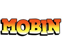 Mobin sunset logo