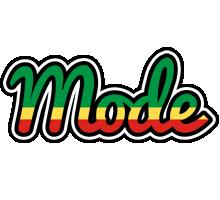 Mode african logo
