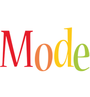 Mode birthday logo