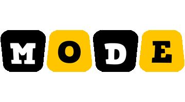 Mode boots logo