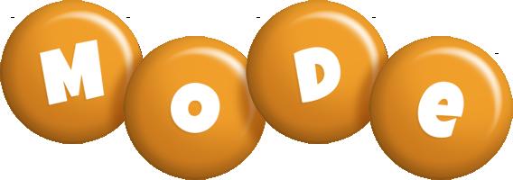 Mode candy-orange logo