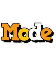 Mode cartoon logo