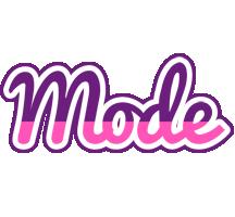 Mode cheerful logo