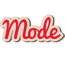 Mode chocolate logo