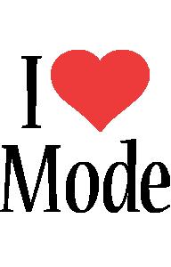 Mode i-love logo