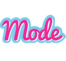Mode popstar logo