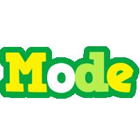 Mode soccer logo