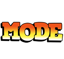 Mode sunset logo