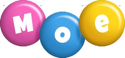 Moe candy logo