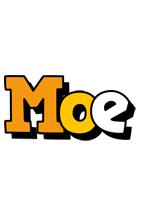 Moe cartoon logo