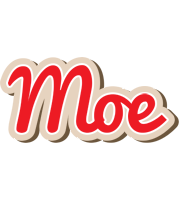 Moe chocolate logo