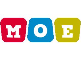 Moe daycare logo