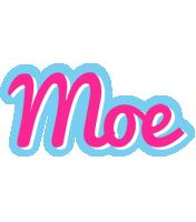 Moe popstar logo