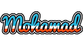 Mohamad america logo