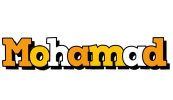 Mohamad cartoon logo