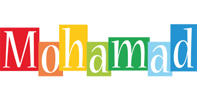 Mohamad colors logo