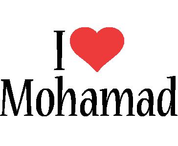 Mohamad i-love logo